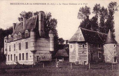 le chateau Beuzeville la Grenier