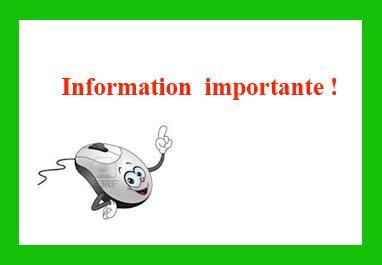 Information importante1